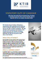 Statuary Duty of Candour Flyer