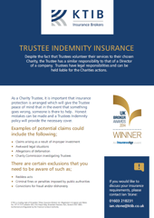 Trustees Indemnity Insurance Flyer