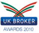 UK Broker award 2010